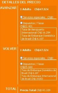 precio final vuelos economicos a florianopolis 188x300 Aerolínea Gol, Vuelos Baratos a Florianópolis desde $47.524