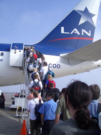 vuelos desde chile a peru: