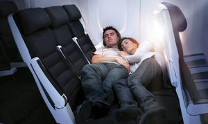 skycouch sofa de cielo Clase Turista?? Ahora podrás dormir comodamente en cama llega Skycouch