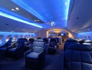 boeing 787 dreamliner interior 300x230 LAN Chile uno de los primeros que tendrá el Boing 787 Dreamliner