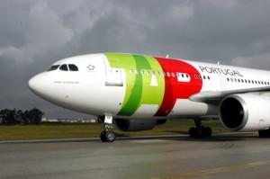 tap avion en aeropuerto 300x199 Rastreo de equipaje perdido con Aerolineas TAP