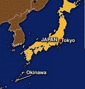 japan okinawa map 287x300 Estados Unidos devuelve control de tráfico aéreo en Okinawa