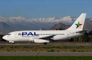 Avión Pal Airlines vuelos al sur Pal Airlines extenderá rutas hacia el sur de Chile