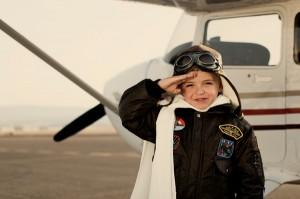 niñopiloto 300x199 Jóvenes Pilotos