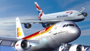 avion iberia british airways 300x171 British Airways e Iberia planean comprar 12 Aerolineas