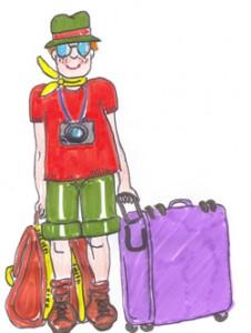turista 226x300 10 Importantes recomendaciones para viajar fuera del país