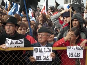 protesta magallanes 300x225 Protesta en sur de Chile complica a turistas