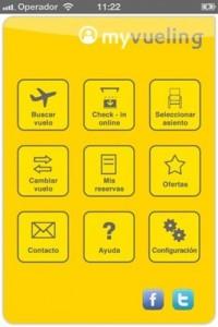 vueling 200x300 Aplicación de vuelos para iPhone