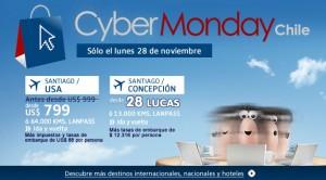 vuelos cybermonday chile 300x166 Cyber Monday llegó a Chile, ofertas y descuentos imperdibles en Lan.com