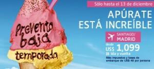 venta pasajes baja temporada lan 300x134 Comenzó la preventa de Baja Temporada en Lan.com para volar el 2012