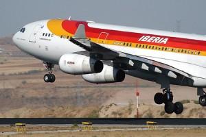 iberia ano 2008 300x200 Iberia y American Airlines unirán Barcelona y Miami